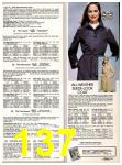 1982 Sears Fall Winter Catalog, Page 137