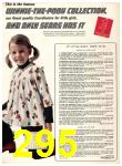 1974 Sears Fall Winter Catalog, Page 295