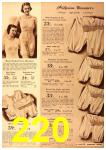 1940 Sears Fall Winter Catalog, Page 220