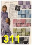 1961 Sears Spring Summer Catalog, Page 311