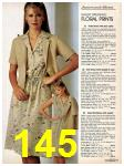 1981 Sears Spring Summer Catalog, Page 145