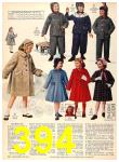 1956 Sears Fall Winter Catalog, Page 394