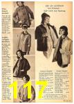 1962 Sears Fall Winter Catalog, Page 117