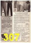 1969 Sears Fall Winter Catalog, Page 307