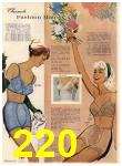 1960 Sears Spring Summer Catalog, Page 220
