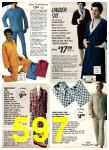 1975 Sears Fall Winter Catalog, Page 597