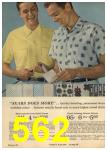 1961 Sears Spring Summer Catalog, Page 562