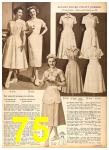 1958 Sears Fall Winter Catalog, Page 75