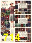 1940 Sears Fall Winter Catalog, Page 714