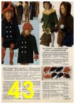 1968 Sears Fall Winter Catalog, Page 43