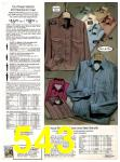 1982 Sears Fall Winter Catalog, Page 543