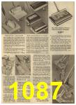 1961 Sears Spring Summer Catalog, Page 1087