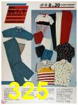 1986 Sears Spring Summer Catalog, Page 325
