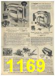 1960 Sears Spring Summer Catalog, Page 1169