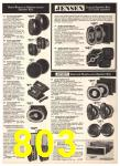 1976 Sears Fall Winter Catalog, Page 803