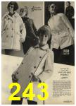 1968 Sears Fall Winter Catalog, Page 243