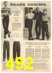 1960 Sears Spring Summer Catalog, Page 492