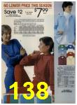 1984 Sears Spring Summer Catalog, Page 138