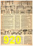 1949 Sears Spring Summer Catalog, Page 920