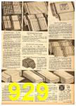 1958 Sears Fall Winter Catalog, Page 929