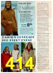 1972 Montgomery Ward Spring Summer Catalog, Page 414