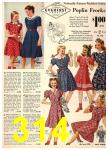 1940 Sears Fall Winter Catalog, Page 314