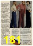 1980 Sears Fall Winter Catalog, Page 181