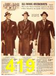 1940 Sears Fall Winter Catalog, Page 419