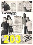 1971 Sears Fall Winter Catalog, Page 203