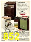 1973 Sears Fall Winter Catalog, Page 852