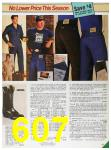 1985 Sears Fall Winter Catalog, Page 607