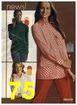 1972 Sears Fall Winter Catalog, Page 75