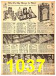 1940 Sears Fall Winter Catalog, Page 1037