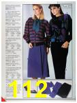 1986 Sears Fall Winter Catalog, Page 112