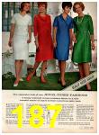 1966 Montgomery Ward Fall Winter Catalog, Page 187