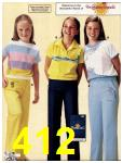 1981 Sears Spring Summer Catalog, Page 412