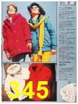 1987 Sears Fall Winter Catalog, Page 345