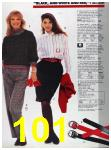 1988 Sears Fall Winter Catalog, Page 101