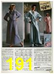 1985 Sears Fall Winter Catalog, Page 191