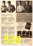 1960 Sears Fall Winter Catalog, Page 539