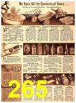 1940 Sears Fall Winter Catalog, Page 265