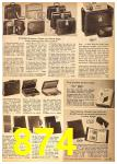 1962 Sears Fall Winter Catalog, Page 874