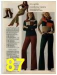 1972 Sears Fall Winter Catalog, Page 87