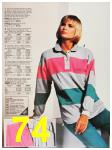 1987 Sears Fall Winter Catalog, Page 74