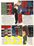 1958 Sears Fall Winter Catalog, Page 333