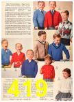 1960 Sears Fall Winter Catalog, Page 419