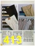 1986 Sears Spring Summer Catalog, Page 413