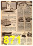 1963 Sears Fall Winter Catalog, Page 871