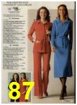 1979 Sears Fall Winter Catalog, Page 87