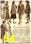 1949 Sears Spring Summer Catalog, Page 64